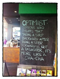 optimist positive bad day